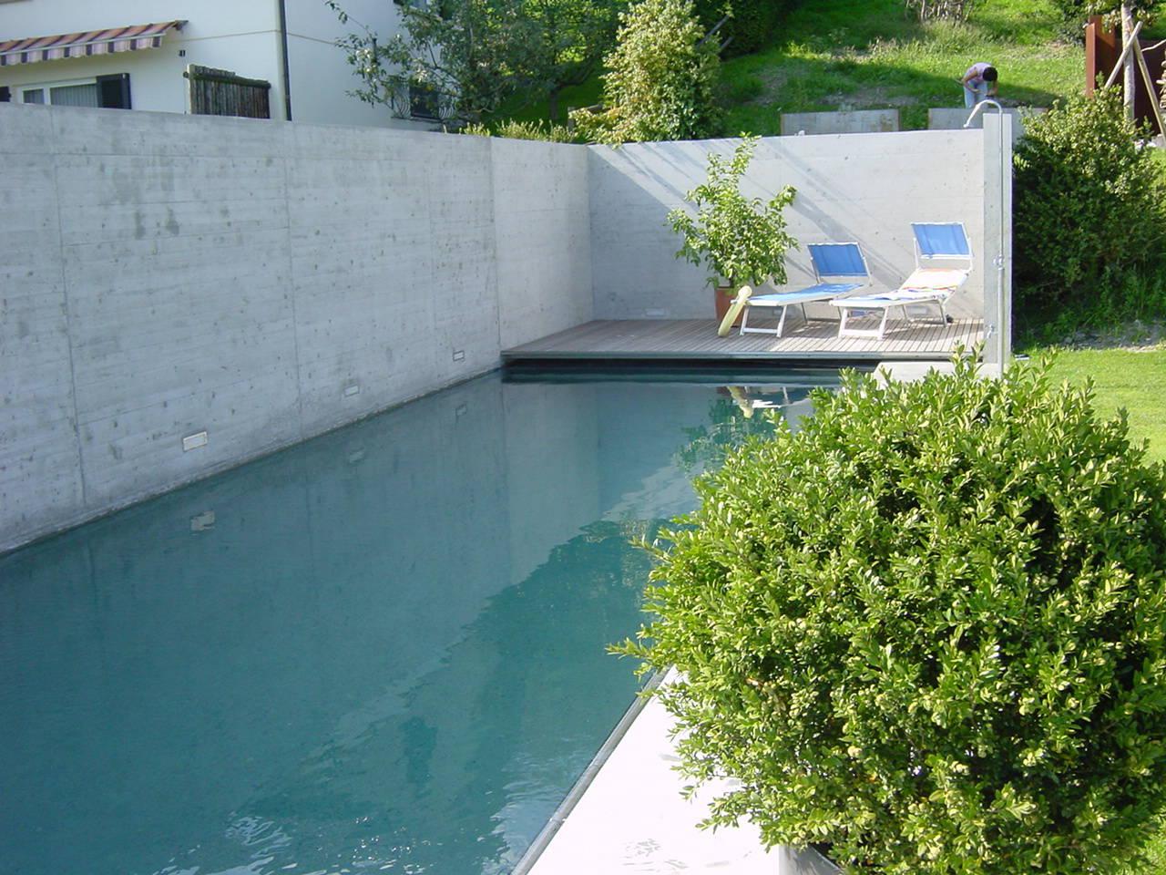 individuelle pools aus beton ibatec ag. Black Bedroom Furniture Sets. Home Design Ideas