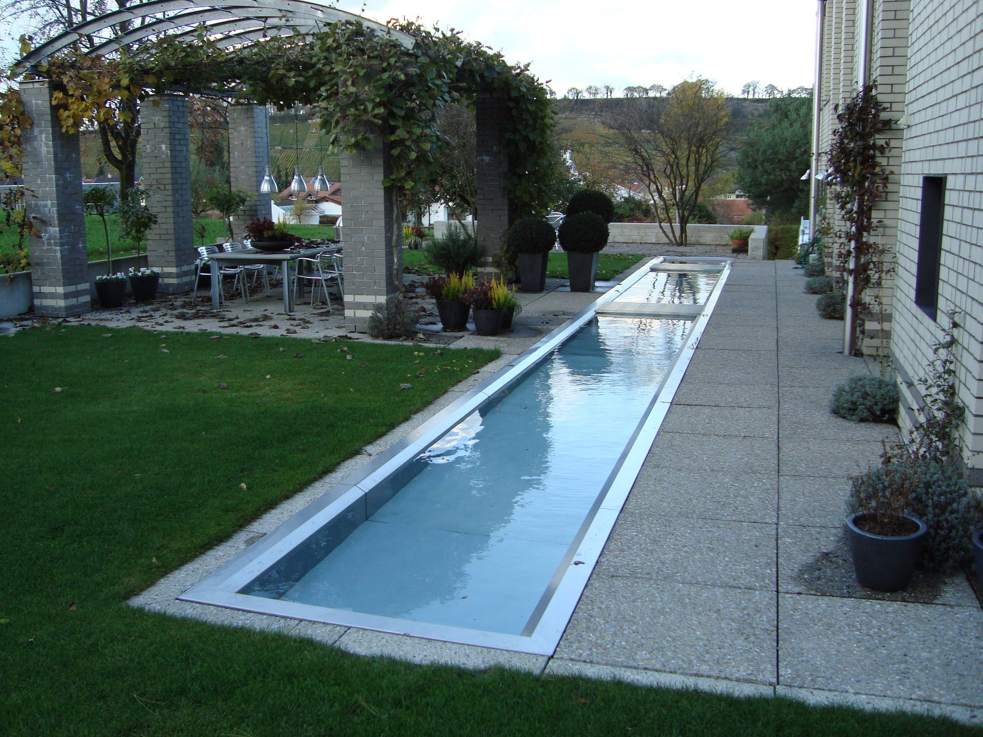 Edelstahl pools in h chster qualit t ibatec ag - Stahl swimmingpool ...