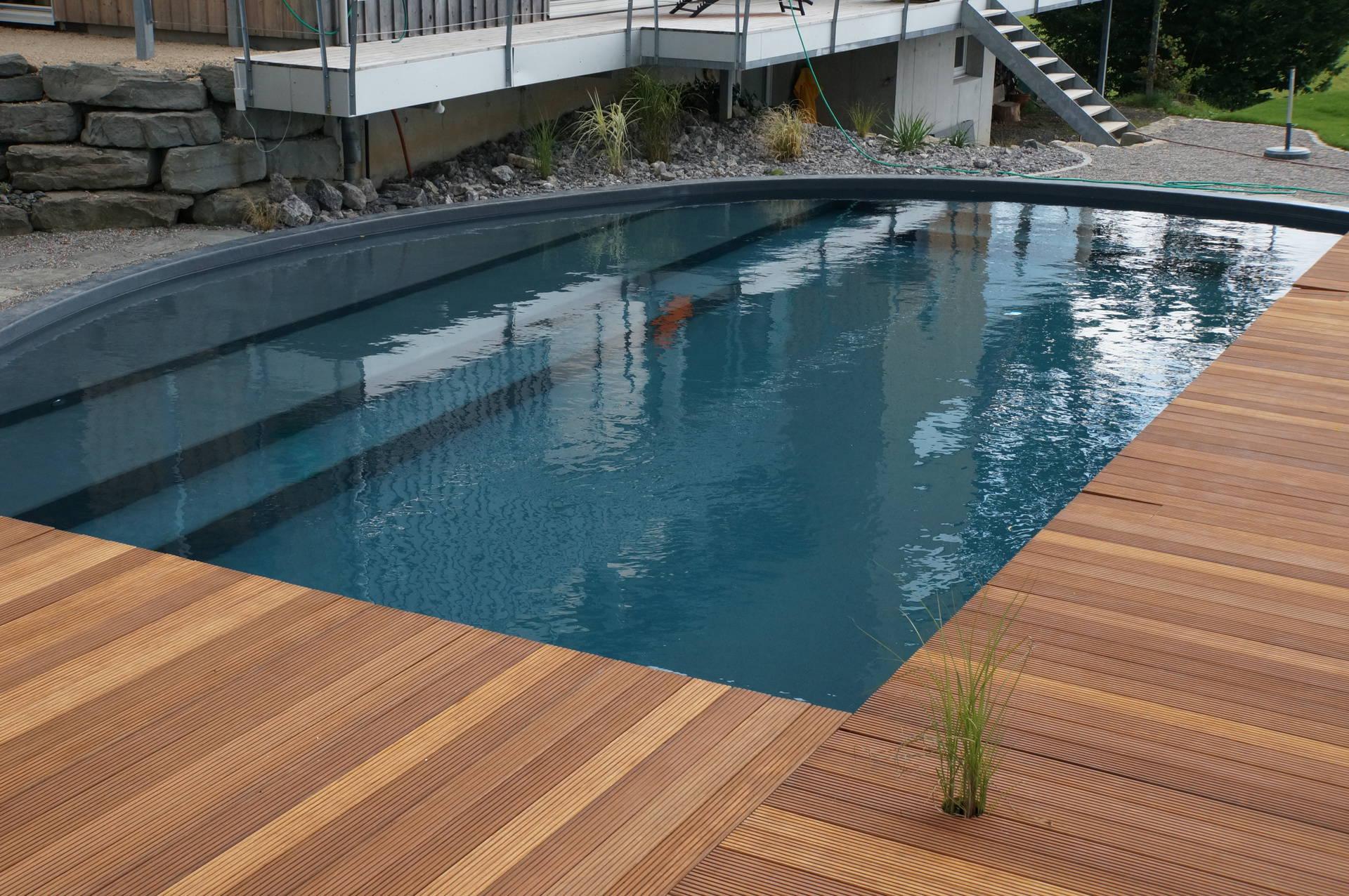 Schwimmbad sanierung mit beschichtung oder for Schwimmbad folienauskleidung